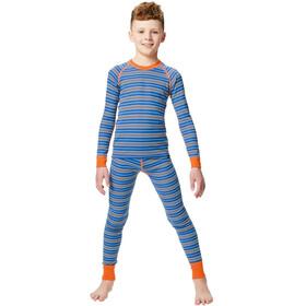 Regatta Elatus Ondergoed bovenlijf Kinderen, oxford blue stripe